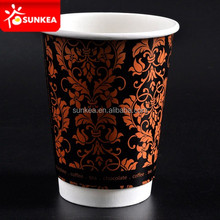 Disposable paper turkish tea cups