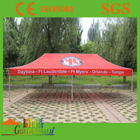 3x6m outdoor metal two cars canopy