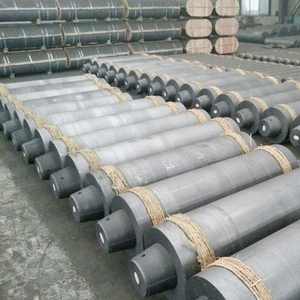 Hot sale good arc furnace carbon graphite electrode price
