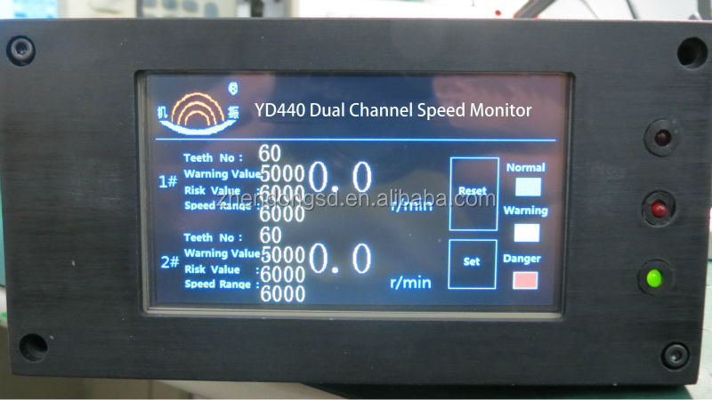 YD440 Dual Channel Rotation Speed Monitor