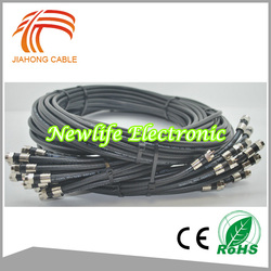 16 Year Cable Factory High Quality Cable RG11 F Connector With CE RoHS
