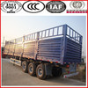 From China military vehicle enterprise!!!SINOTRUK bulk cargo vehicle trailers with side wall