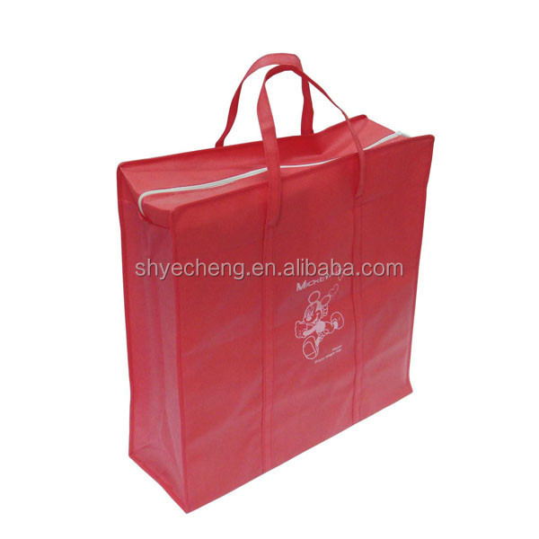 polypropylene foldable recycle customized high quality custom print non woven tote bags