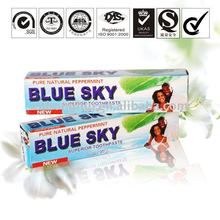 Blue sky whitening toothpaste chemical home care