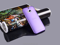 Vooase free sample phone case OEM transparent cell phone back case cover for HTC M8