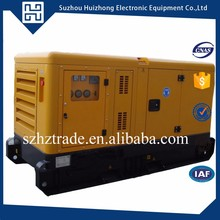 Powered by perkins water cooling 40ft container diesel generator for power plant