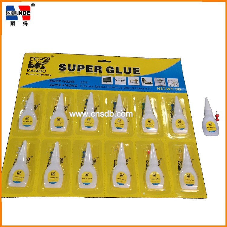5g instant super power glue 502 in PE handy bottles