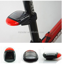 Solar Power Bike Bicycle Red LED Tail Rear Light