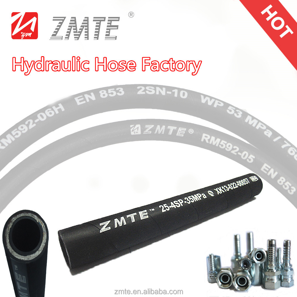 international specifications 4SP 1/2inch high quality oil resistance hydraulic hose