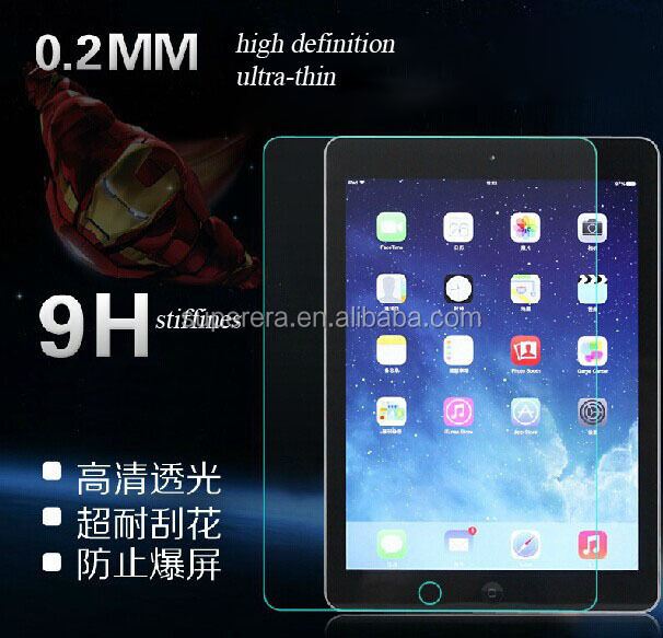 Ultra Thin HD Clear Explosion-proof Tempered Glass Screen protector film for ipad mini/air ect