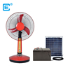 Best selling outdoor/indoor solar powered portable fan solar DC portable fans