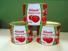 good quality oem brand natural red color canned tomato production tomato sauce