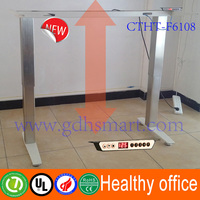 New product height adjustable desk legs & alibaba express electric standing metal computer desk with electric lifting columns