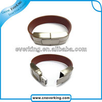 High speed Promotional wristband usb flash drive for 2.0 drive