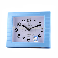 Hot sales simple durable plastic cheap table alarm clock for sale