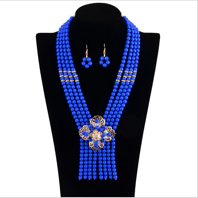 Hot-sale fashion african wedding jewelry set