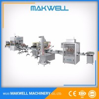 Tested Large Manufacturer Jam Mayonnaise Food And Beverage Filling Machine
