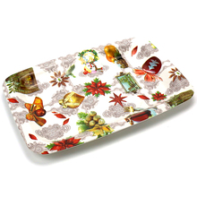 Fashion cake breakfast plastic tray for house decoration