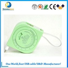 New Product Tape line series BMI Multi-function 2 in 1 usb cable for iphone and Android