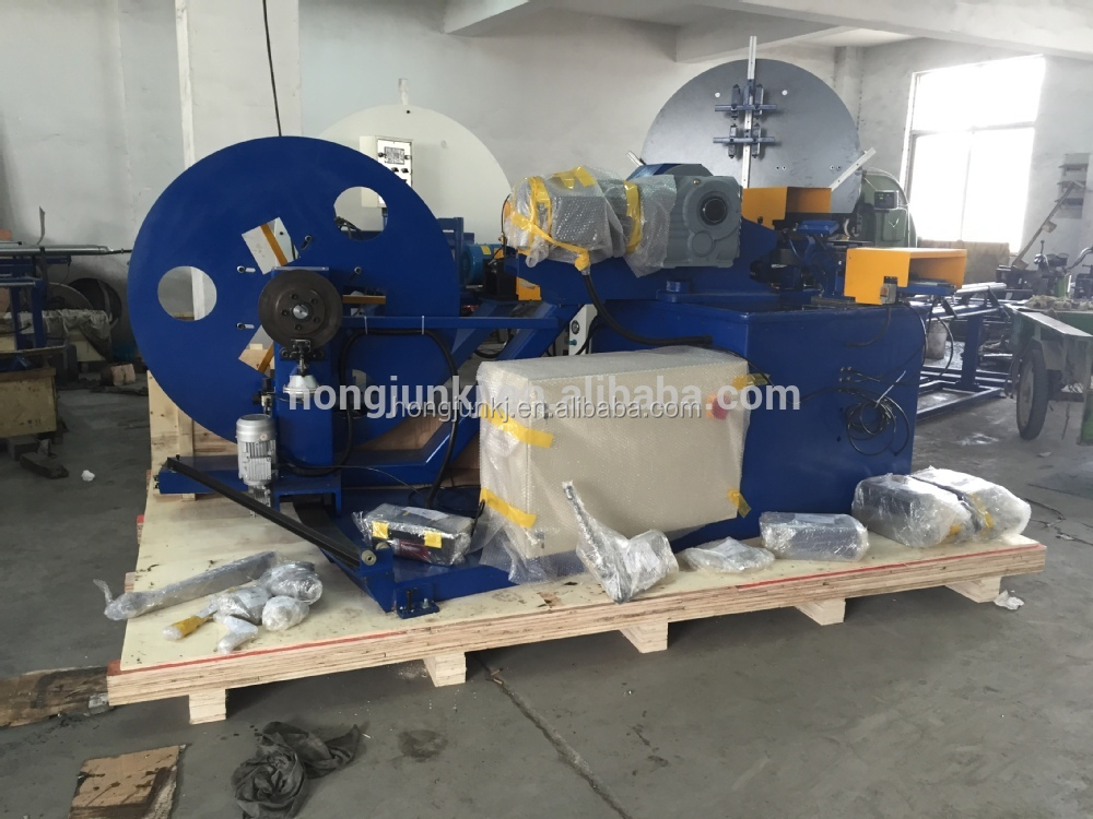 HJTF1602 Aluminum ventilation ducting hvac duct making machine