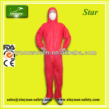 hygiene and cleaing Type 5/6 SMS Coverall