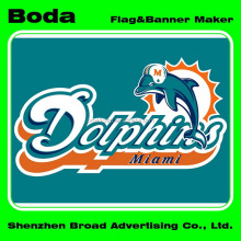 Promotion durable in use advertising nfl miami dolphins scarf