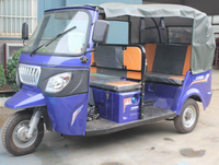 Motorized Tuk Tuk 200cc Motorcycles Used For Passenger