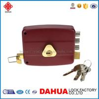 PROFESSIONAL RIM LOCK WITH COVER PLATE DOUBLE CYLINDER FOR DOOR 106C