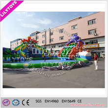 inflatable giant outdoor inflatable water park ,inflatable amusement park,inflatable fun land for adults