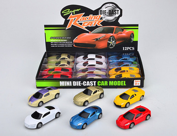 Hot sale Diecast Toy Car in Metal 1:64 Scale children toys