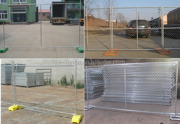 Made in Hebei 6' construction site temporary fence panels and children/swimming temporary fence hot sale
