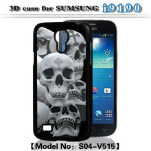 3D Sublimation Phone Case for Samsung S4 Mini,3d cell phone case for samsung