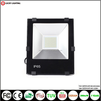 TUV SAA CE 100w 16000lm 7 year warranty high bay light Meanwell driver OSRAM chip IP65 led flood light