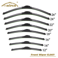 2018 new glass wiper blade for cars universal type and exclusive type