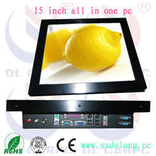 15 inch Open Frame LCD Disply with Data and Computer