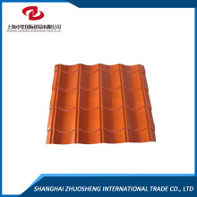 High Corrosion Resistant Beautiful Color Steel Roof Glazed Tile