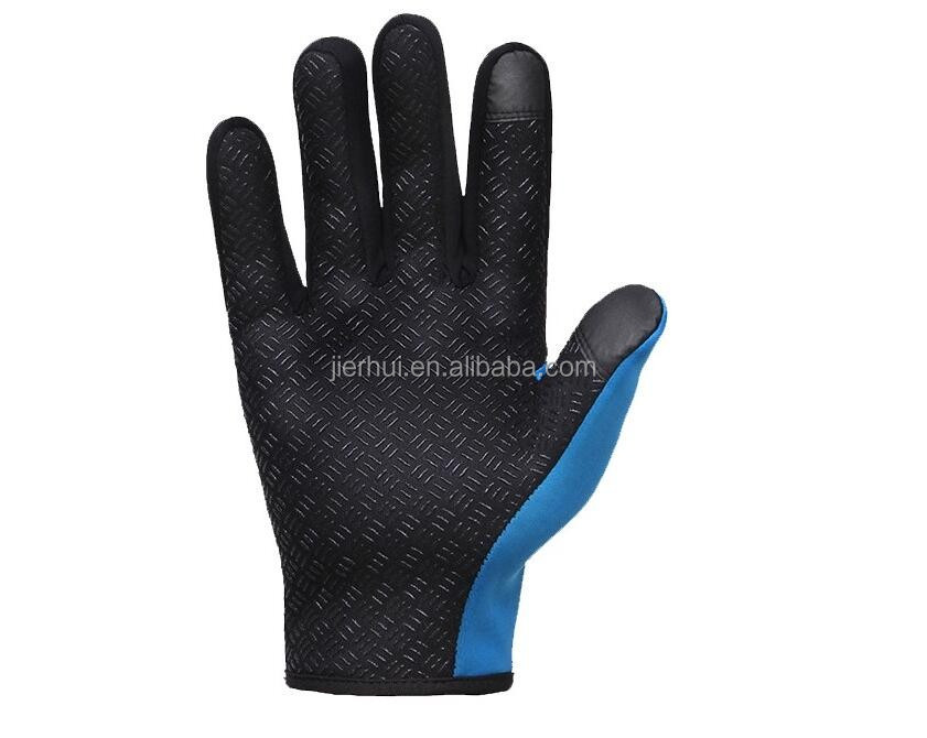 JIE'ERHUI Knitted Smooth Latex palm Gloves For Work Use/construction Glove