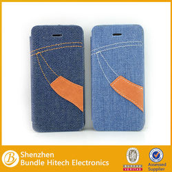 jean skin new design leather case slim case for iPhone5