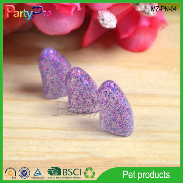 2015 Crystal Pet Grooming Products Dog Claw Cover Cat Nail Caps Innovative Pet Accessories