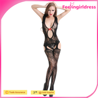 Transparent Hot Sexy Black NO MOQ Sample Free High Quality Bodystocking On Sale