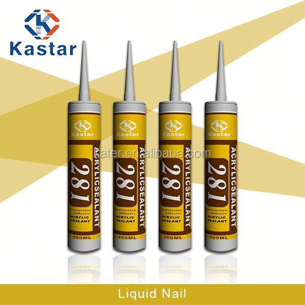 Acrylic Joint Liquid Nail For Bathroom