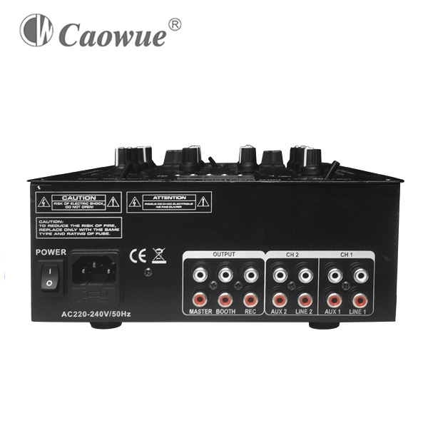 Hot sell China 2 channel dj mixer usb mp3 player with bluetooth