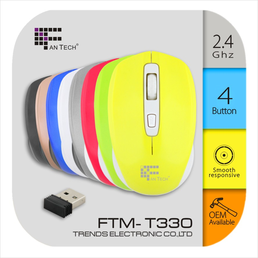 Wholesate Computer 3D Optical Sweety Mouse FTM-T330