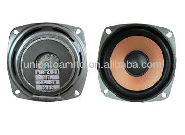 78.5 x 78.5 x 42(H)mm 10W Metal Frame Outer Magnet Paper Cone 78.5mm Full Range Loud Speaker
