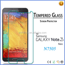 Accept paypal 0.33mm 9H tempered glass screen protector for Samsung Galaxy Note 3 cell phone touch screen protector