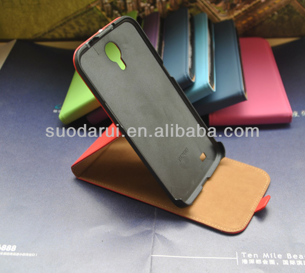 Stand Slim Flip case For Samsung I9200 Galaxy Mega 6.3 cover Mix color