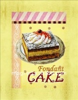 Hot New Style Fondant Cake Oil Paintings