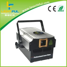 club 4W RGB laser light show rgb laser 30k laser full color dj with free ISHOW software