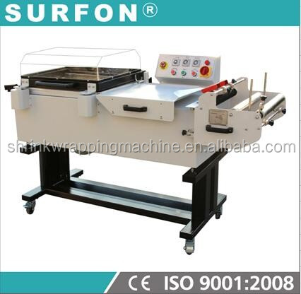 Model: SF-5540 2 in 1 Shrink Wrapper/Paker For Chocolate Box