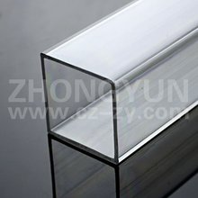 Acrylic transparent square tube